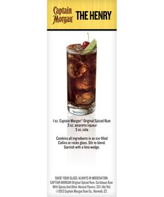 Captain Morgan® The Henry