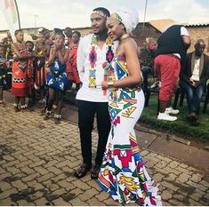 Gorgeous couple African Wedding Attire, African Attire, African Wear, African Weddings, African Inspired Fashion, African Print Fashion, Africa Fashion, African Dresses For Women, African Print Dresses