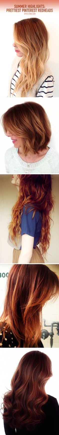 Prettiest Pinterest Redheads  CREDIT: pinterest.com