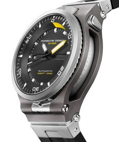 37 Coolest Porsche Design Products is part of Watches unique - optimally design studios Design signatures The plan of the Panerai replica watch display has numerous characteristic capabilities Bot Amazing Watches, Cool Watches, Unique Watches, Dream Watches, Hand Watch, Bracelet Cuir, Porsche Design, Luxury Watches For Men, Automatic Watch