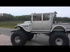 Custom 1924 Rat Rod 4X4 Model-T Truck
