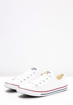 a68be636bfd Chaussures Converse CHUCK TAYLOR ALL STAR DAINTY - Baskets basses - blanc  blanc  55