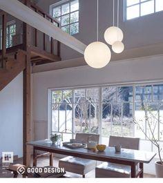 吹抜け用 3灯LEDシャンデリア   MODIFY SPHERE(SxMxL) 白   インテリア照明の通販 照明のライティングファクトリー