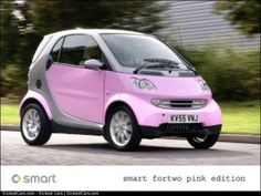2006 Smart Fortwo A RealLife Barbie Car - http://sickestcars.com/2013/05/24/2006-smart-fortwo-a-reallife-barbie-car/