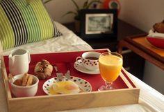 Café da manhã na cama para surpreender no dia 12.