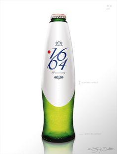 futuristic1664 Bottle design project.  delatour design