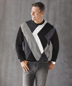 Vertigo Zig Zag Sweater from Midnight Velvet® | VW65531