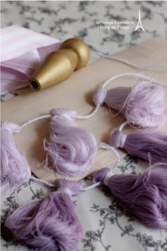 Ombre Tassels.