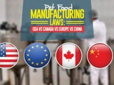 Who has the most strict pet food manufacturing standards and regulations to ensure the safety and quality of dog foods and cat foods? Here's how USA vs Europe vs Canada vs China fare against each other, and what you must know about their regulations. Dog Bath Tub, Bath Tubs, Puppy Food, Pet Food, Fruit Dogs Can Eat, Top 10 Dog Foods, Home Remedies For Fleas, Best Dog Food Brands, Food Manufacturing