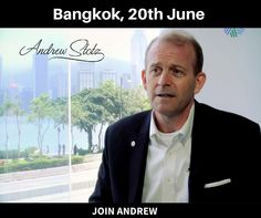 Join Andrew Stotz as he teaches the lessons from his book, You Won't Get Rich in the Stock Market…Until You Change the Way You Think About It. If interested send a message here..  Place- Bangkok, Thailand Date: June 20th. A limited number of seats!  #bookpromotion #stockmarket #Stockworld #money #AndrewStotz #StotzStocks #FinancialAdvisor #stockinvestment #investment #Investmentprinciples