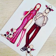 Meeska Mooska Mickey Mouse 💞 - What's your outfit? Fashion Illustration Sketches, Art Drawings Sketches, Disney Drawings, Cute Drawings, Fashion Sketches, Social Media Art, Arte Fashion, Art Costume, Fashion Design Drawings
