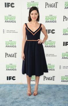 Aubrey Plaza in Preen - Independent Spirit Awards 2014