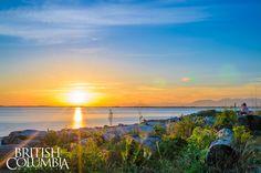 Joel David-Baluyo. #sunset #sunrise #britishcolumbia #surrey #ilovebc #explorebc #britishcolumbiamagazine #crescentbeach #whiterock