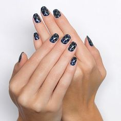 chain link by essie - dress up nails with delicate chain links for a look that's sure to turn heads.