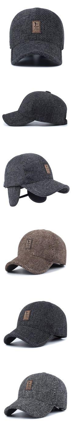 Hip Hop Snapback Dad Hats For Men Women Baseball Cap With Ears 2017 Winter Eearflaped Full  Trucker Cap Tactical Hat Bonnets