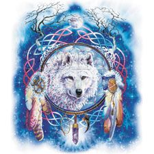 Wolves and Dream Catchers   Wolf/Dream Catcher / Wolf T-Shirts / T-Shirts catalog