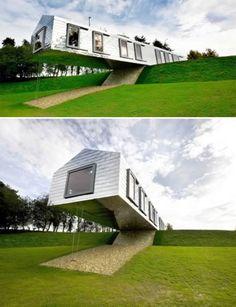 Interesting Homes On Pinterest Weird Houses Building