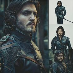 The Musketeers - Tom Burke as Athos