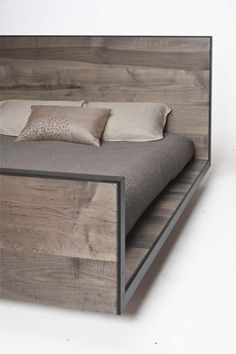 BEDS.001 TodVon :: Tod Von Mertens Furniture Design and Production - platform sleigh bed