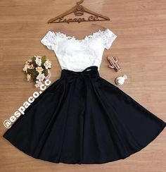 Wedding Tutorial and Ideas Teenage Girl Outfits, Teen Fashion Outfits, Cute Casual Outfits, Mode Outfits, Skirt Outfits, Cute Fashion, Outfits For Teens, Pretty Outfits, Stylish Outfits