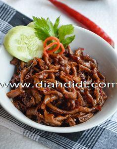Diah Didi's Kitchen: Usus Ayam Gongso