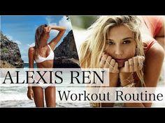Alexis Ren Workout - YouTube