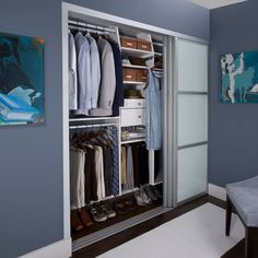 Genial His U0026 Hers Reach In Closet   Contemporary   Closet   New York   TransFORM. Closet  Sliding Closet Door ...