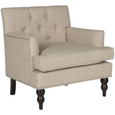 Found it at Joss & Main - Mallory Tufted Arm Chair