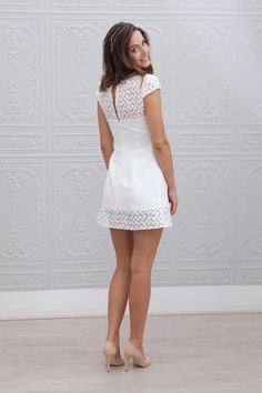 Youth long hair style for short wedding dresses Civil Wedding Dresses, Grad Dresses, Sexy Dresses, Cute Dresses, Casual Dresses, Short Dresses, Fashion Dresses, Summer Dresses, The Dress