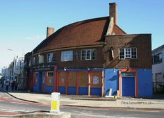 The Horseshoe, Kings Road, Southsea. Demolished to make way for flats. Portsmouth Pubs, Hampshire Uk, Make Way, Getting Out, Seaside, Buildings, England, Lost, Cabin