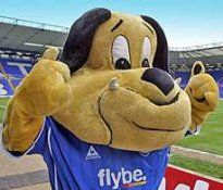 Birmingham City: Beau Brummie at football mascots. Check out all the mascots from the Scottish, Irish, Welsh and English football Leagues. Trevor Francis, Birmingham City Fc, Sports Advertising, English Football League, Big Boys, Blues, Tips, Pets, Sports