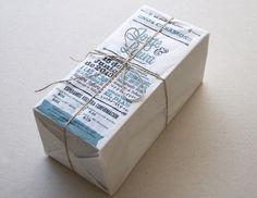 Jorge & Laura packaging.