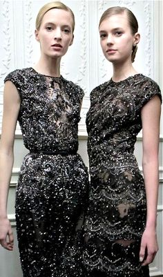 Slightly awkward sleeve lengths for normal frames, but otherwise fantastic. (Elie Saab | S/S 2013)