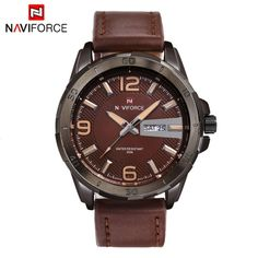 NAVIFORCE Fashion Luxury Brand Men Business Wristwatch Luminous 3ATM Water-resistant Man Casual Quartz Watch with Date