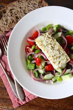 Simpele Griekse salade met een twist | Beginspiration