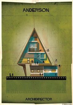 "Federico Babina - from series ""Archidirectors"" - Anderson -  http://federicobabina.com/"