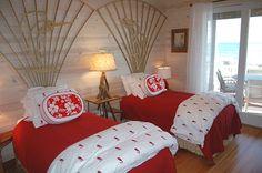 Aloha Hawaiian theme bedroom