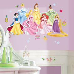 Disney   Disney Princess   Disney Princess   Holiday Wall Stickers    Decorating Heaven Wall Stickers
