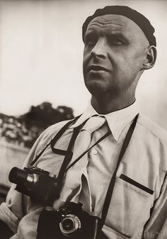 Aleksander Mikhailovich Rodchenko (12/5/189112/3/1956) was born in St. Petersburg, to a working-class family who moved to Kazan after the death of his father, in 1909. He worked as a painter & graphic designer before turning to photomontage & photography. His photography was socially engaged, formally innovative, & opposed to a painterly aesthetic. He often shot his subjects from odd angles—usually high above or down below—to shock the viewer and to postpone recognition.