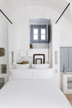 camere da letto essenziali - ispirazioni d'autore con le foto di Romain Ricard