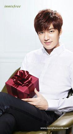 Lee Min Ho, Innisfree Christmas.
