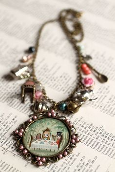 Alice Tea Party - From the Alice Collection - original cameo by Mab Graves by mab graves, via Flickr
