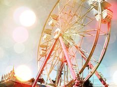 Ferris Wheels! (I love what they did with the effects. It adds a good touch into the image.)