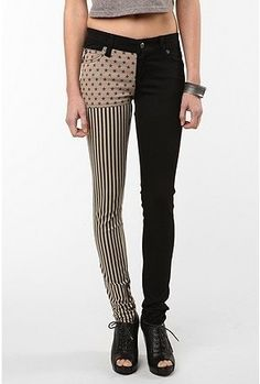 UrbanOutfitters.com > Tripp NYC Split Leg Jean - Stars and Stripes - StyleSays