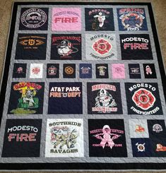 T Shirt Quilt Front By Buggletquilts Via Flickr Shirt
