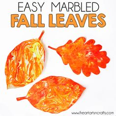 We're finally getting some cooler weather here, which has been getting me excited for fall and everything that comes with it! Here's an easy fall craft that even the younger ones can help do. This is a bit messy but the end result is gorgeous! Easy Marbled Fall Leaves This post contains affiliate links. Please …