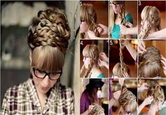 Learn How to Braid Your Hair Easy But With Style - Find Fun Art Projects to Do at Home and Arts and Crafts Ideas | Find Fun Art Projects to Do at Home and Arts and Crafts Ideas