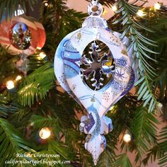 Sizzix: Die Cutting Inspiration and Tips: Vintage Christmas Ornaments