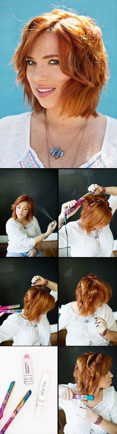 35 Trendy hairstyles for medium length hair tutorial easy waves - kurzhaarfrisuren Haircuts For Women, Thin Straight Hair, Haircuts Straight Hair, Haircut Short, Haircut Medium, Thin Hair, Short Haircuts, Medium Hair Cuts, Medium Hair Styles
