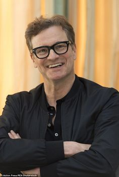 The actress has been enjoying a whirlwind promotional tour for the new film alongside Colin Firth (pictured) and Patrick Dempsey Bridget Jones Movies, Bridget Jones Baby, Mr Darcy, Renee Zellweger, Patrick Dempsey, I Like Him, Colin Firth, English Men, Kingsman